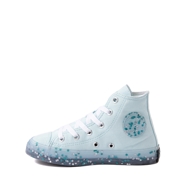 alternate view Converse Chuck Taylor All Star Hi Stuff Inside Sneaker - Little Kid / Big Kid - Glacier BlueALT1