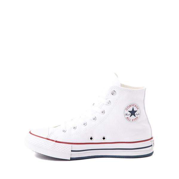 alternate view Converse Chuck Taylor All Star Hi Platform Sneaker - Little Kid / Big Kid - WhiteALT1