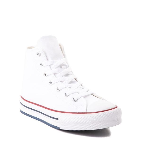 alternate view Converse Chuck Taylor All Star Hi Platform Sneaker - Little Kid / Big Kid - WhiteALT1B