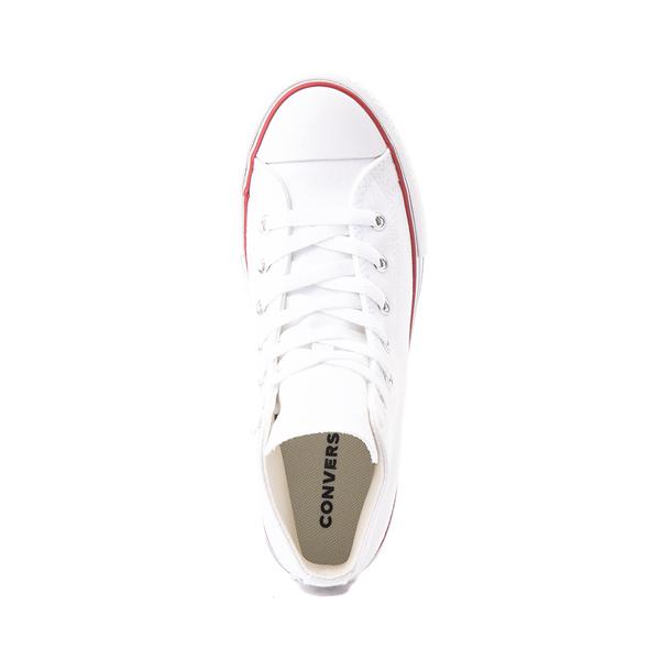 alternate view Converse Chuck Taylor All Star Hi Platform Sneaker - Little Kid / Big Kid - WhiteALT2