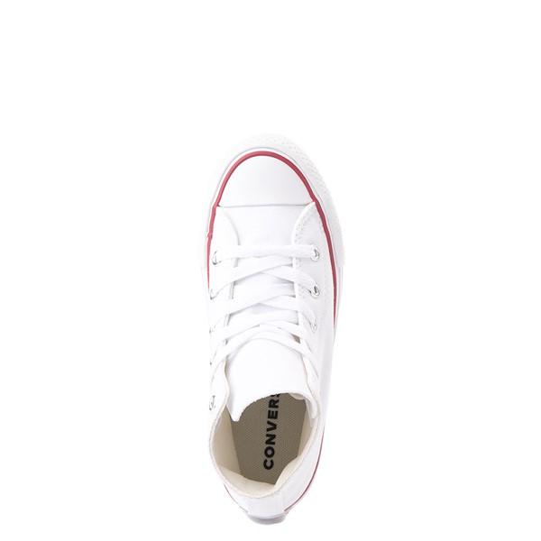 alternate view Converse Chuck Taylor All Star Hi Platform Sneaker - Little Kid / Big Kid - WhiteALT4B