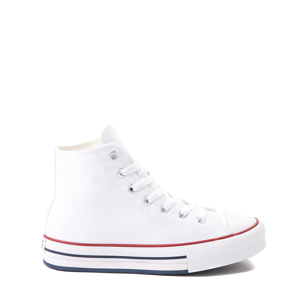 Converse Chuck Taylor All Star Hi Platform Sneaker - Little Kid / Big Kid - White