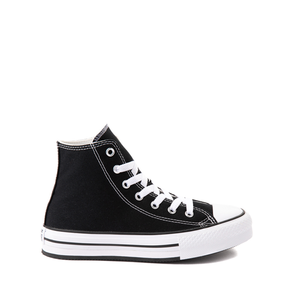 Main view of Converse Chuck Taylor All Star Hi Platform Sneaker - Little Kid / Big Kid - Black