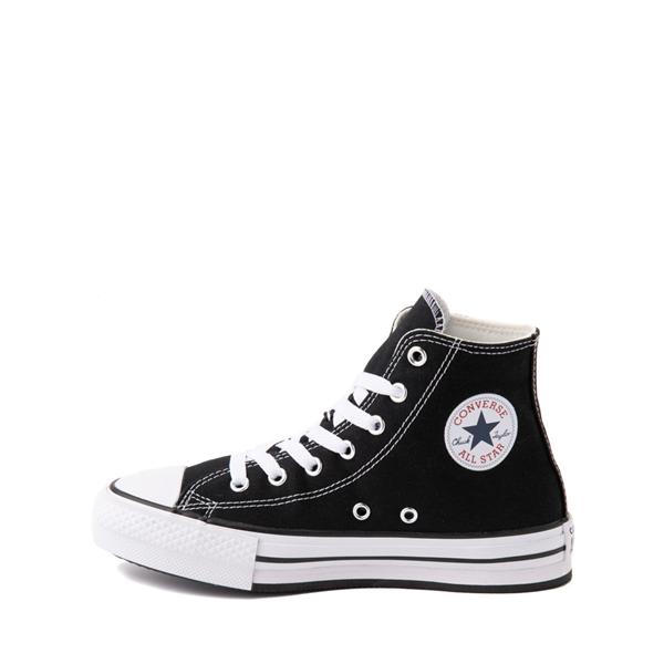 alternate view Converse Chuck Taylor All Star Hi Platform Sneaker - Little Kid / Big Kid - BlackALT1