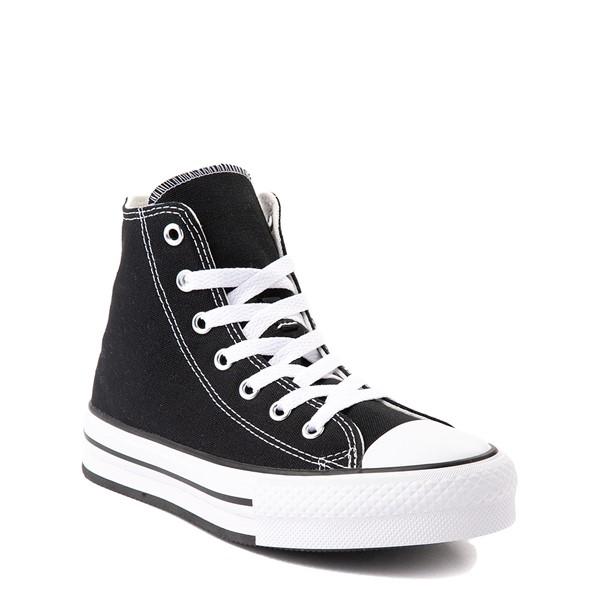 alternate view Converse Chuck Taylor All Star Hi Platform Sneaker - Little Kid / Big Kid - BlackALT1B