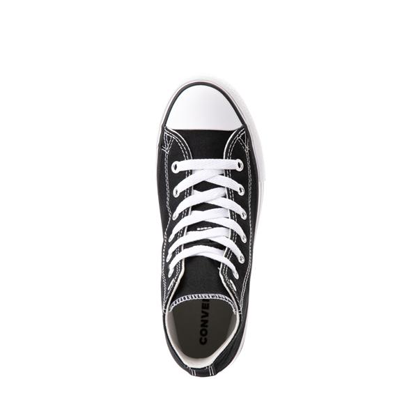 alternate view Converse Chuck Taylor All Star Hi Platform Sneaker - Little Kid / Big Kid - BlackALT2