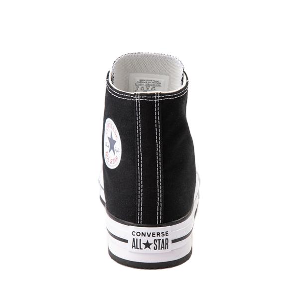 alternate view Converse Chuck Taylor All Star Hi Platform Sneaker - Little Kid / Big Kid - BlackALT4