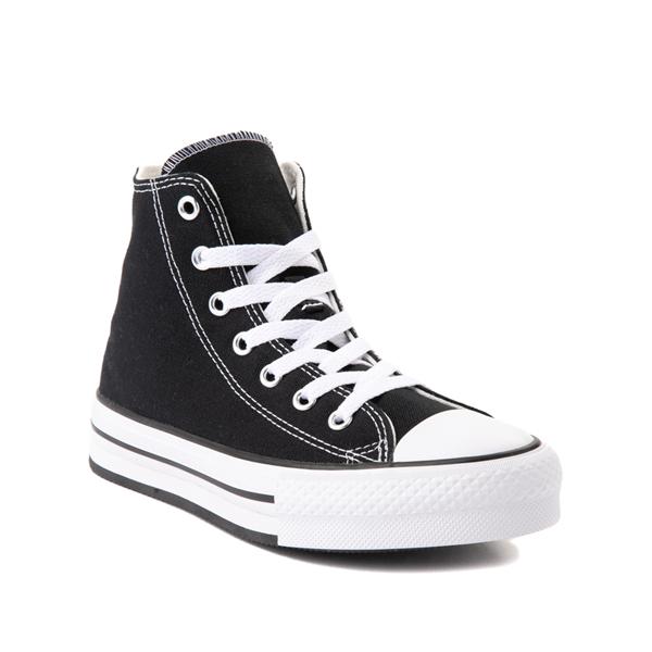 alternate view Converse Chuck Taylor All Star Hi Platform Sneaker - Little Kid / Big Kid - BlackALT5