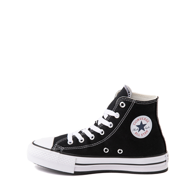 Alternate view of Converse Chuck Taylor All Star Hi Platform Sneaker - Little Kid / Big Kid - Black