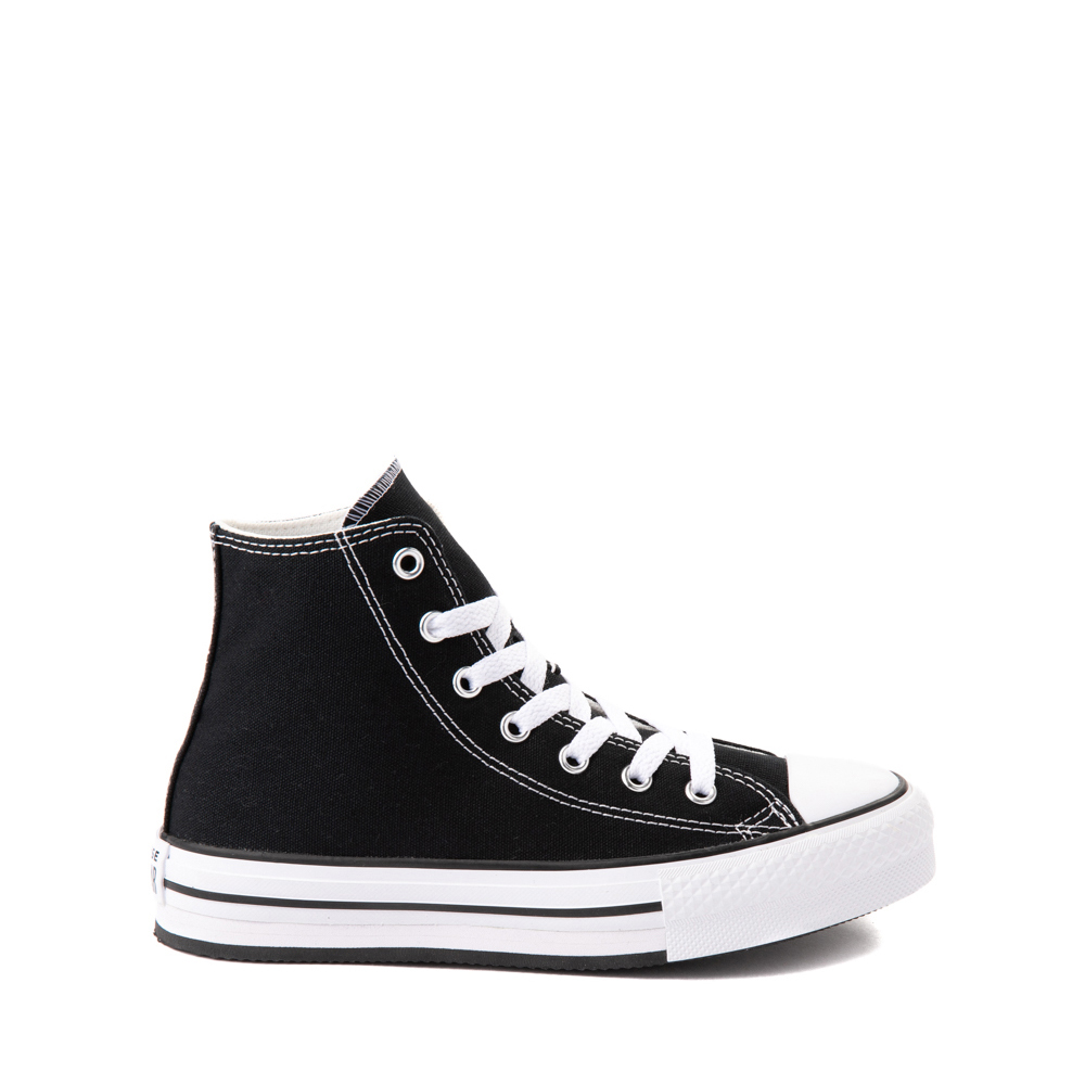 Converse Chuck Taylor All Star Hi Platform Sneaker - Little Kid / Big Kid - Black