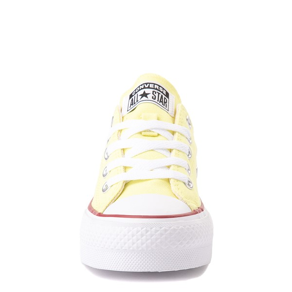 alternate view Converse Chuck Taylor All Star Lift Lo Sneaker - Little Kid / Big Kid - YellowALT4