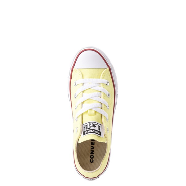 alternate view Converse Chuck Taylor All Star Lift Lo Sneaker - Little Kid / Big Kid - YellowALT4B