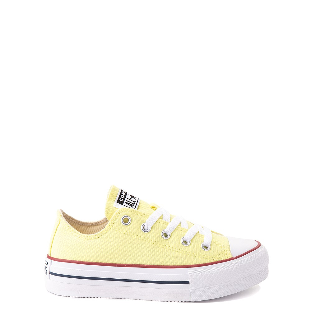 Converse Chuck Taylor All Star Lift Lo Sneaker - Little Kid / Big Kid - Yellow