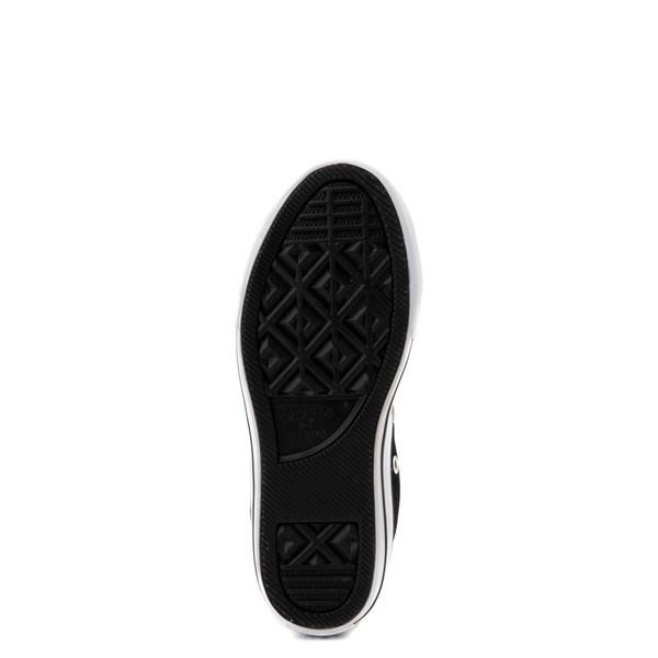 alternate view Converse Padded Collar Chuck Taylor All Star Hi Sneaker - Little Kid / Big Kid - Black / RedALT3