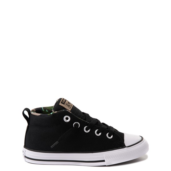 Converse Chuck Taylor All Star Street Mid Sneaker - Little Kid / Big Kid - Black / Camo