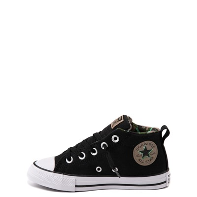 Alternate view of Converse Chuck Taylor All Star Street Mid Sneaker - Little Kid / Big Kid - Black / Camo