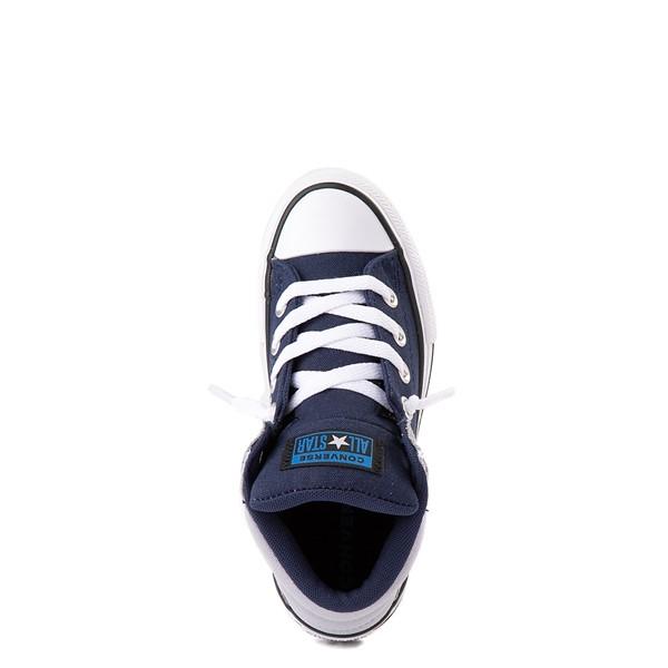 alternate view Converse Chuck Taylor All Star Axel Mid Sneaker - Little Kid / Big Kid - Navy / GravelALT2