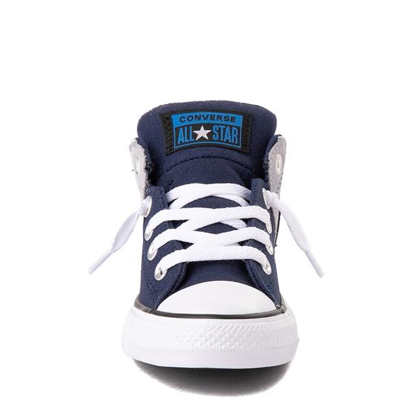 alternate view Converse Chuck Taylor All Star Axel Mid Sneaker - Little Kid / Big Kid - Navy / GravelALT4
