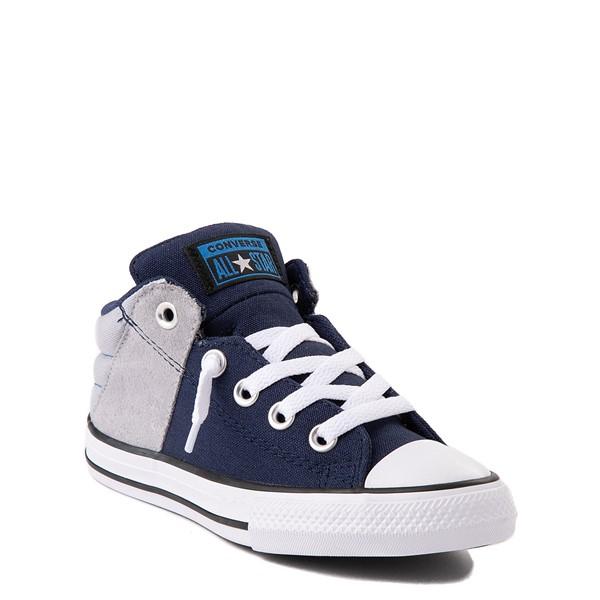 alternate view Converse Chuck Taylor All Star Axel Mid Sneaker - Little Kid / Big Kid - Navy / GravelALT5