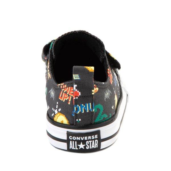 alternate view Converse Chuck Taylor All Star 2V Lo Gamer Sneaker - Baby / Toddler - BlackALT4
