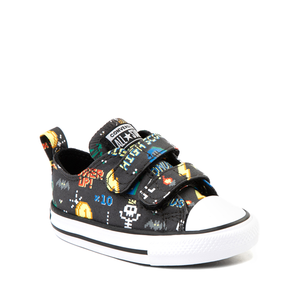 alternate view Converse Chuck Taylor All Star 2V Lo Gamer Sneaker - Baby / Toddler - BlackALT5