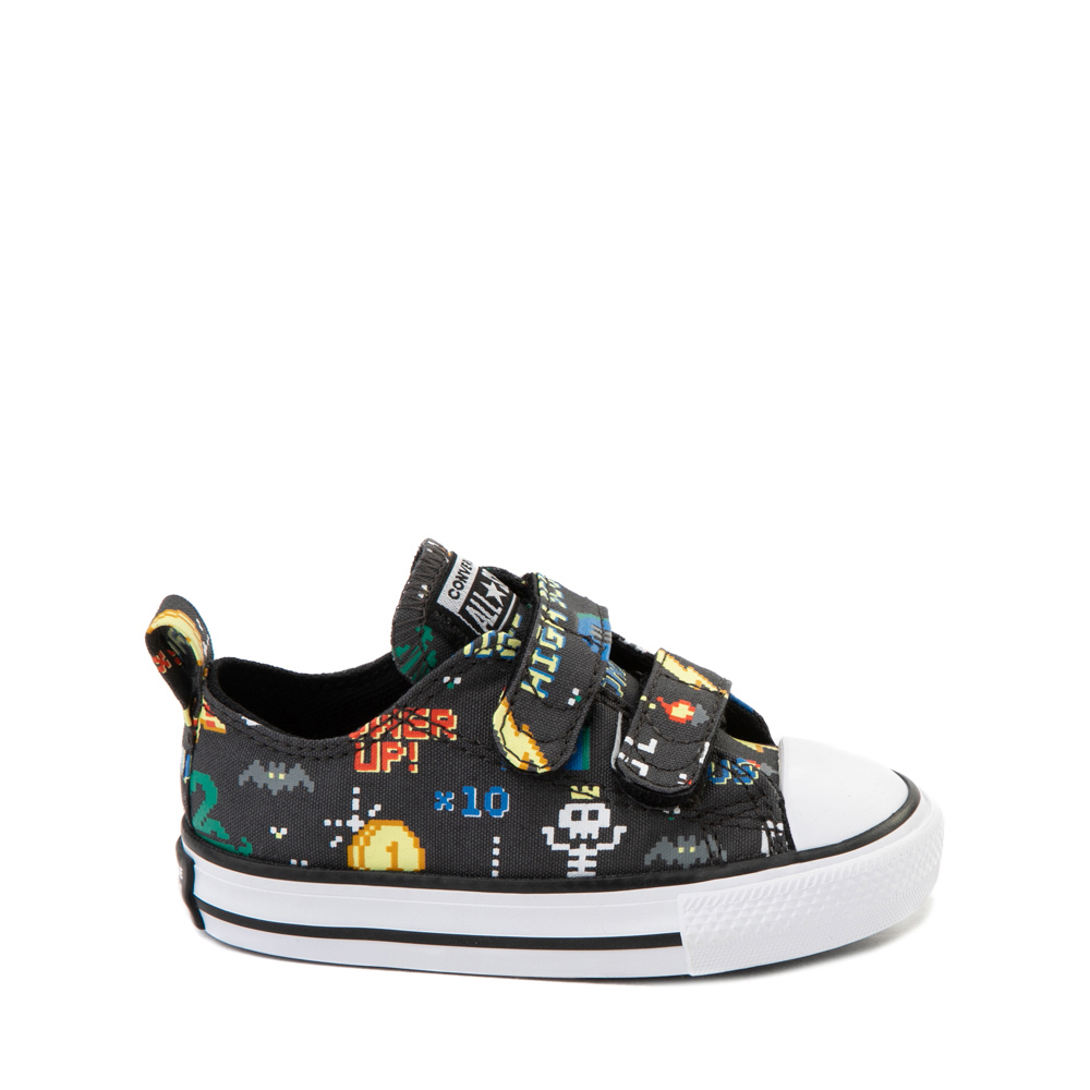 Converse Chuck Taylor All Star 2V Lo Gamer Sneaker - Baby / Toddler - Black