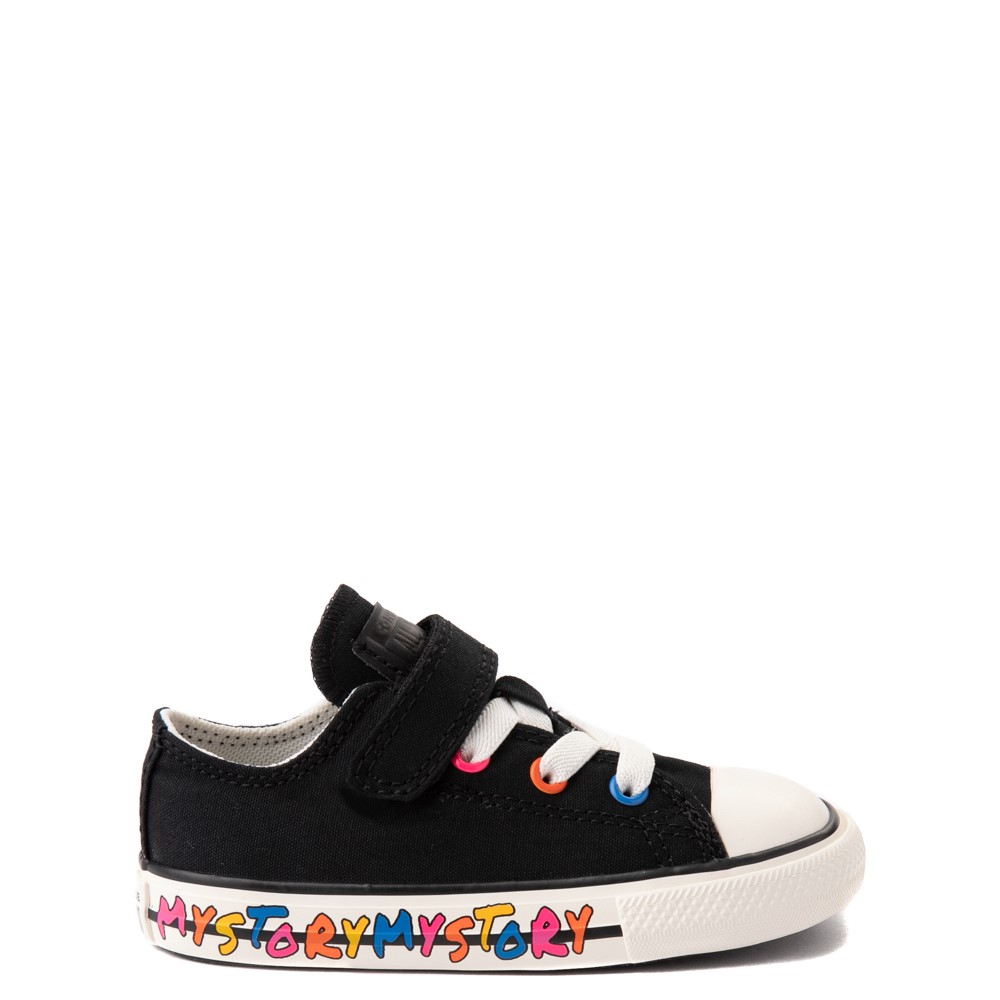 Converse Chuck Taylor All Star 1V Lo My Story Sneaker - Baby / Toddler - Black