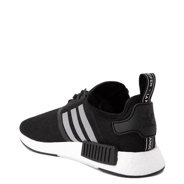 alternate view Mens adidas NMD R1 Athletic Shoe - Core Black / Silver / Solar RedALT1B