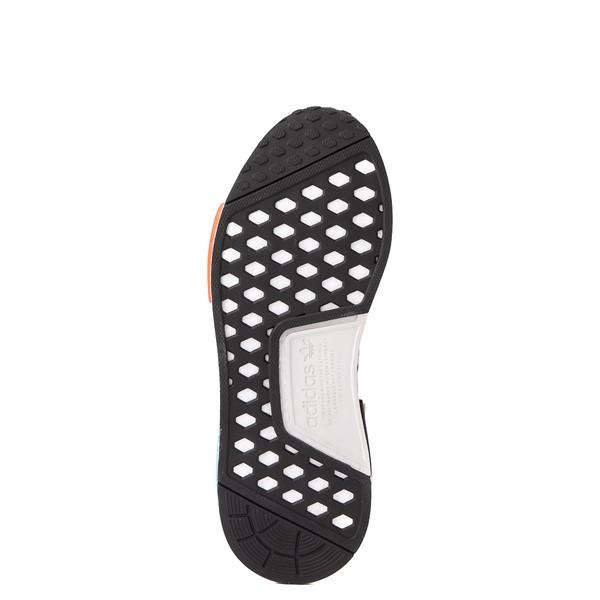 alternate view Mens adidas NMD R1 Athletic Shoe - Core Black / Silver / Solar RedALT3