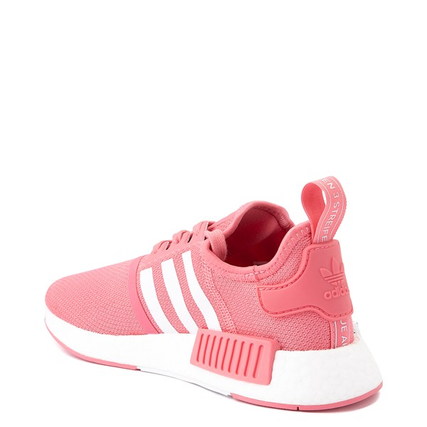 alternate view Womens adidas NMD R1 Athletic Shoe - Hazy Rose / White / Glory BlueALT1