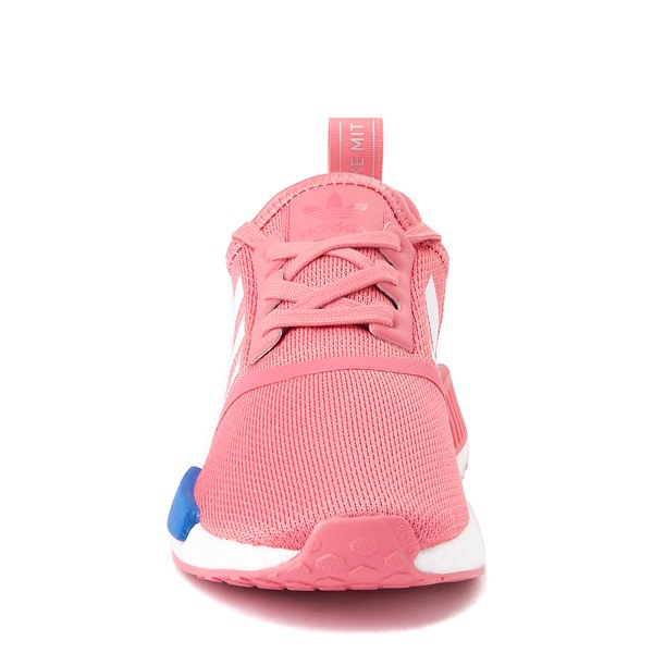 alternate view Womens adidas NMD R1 Athletic Shoe - Hazy Rose / White / Glory BlueALT4