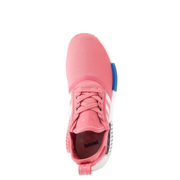 alternate view Womens adidas NMD R1 Athletic Shoe - Hazy Rose / White / Glory BlueALT4B