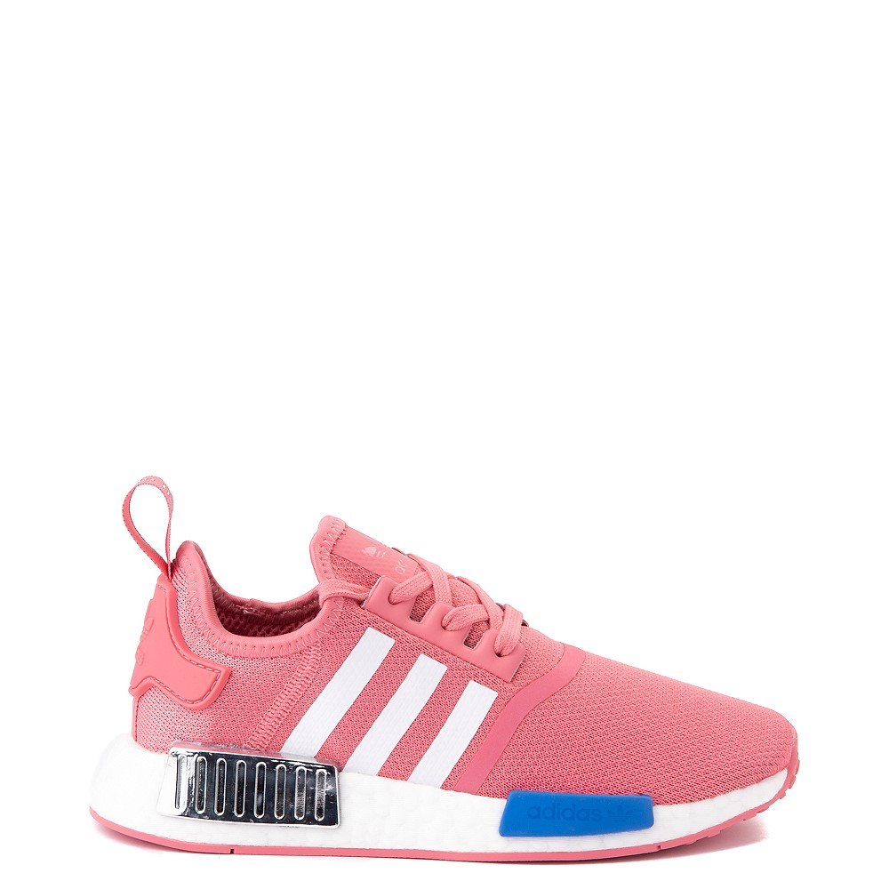 Womens adidas NMD R1 Athletic Shoe - Hazy Rose / White / Glory Blue