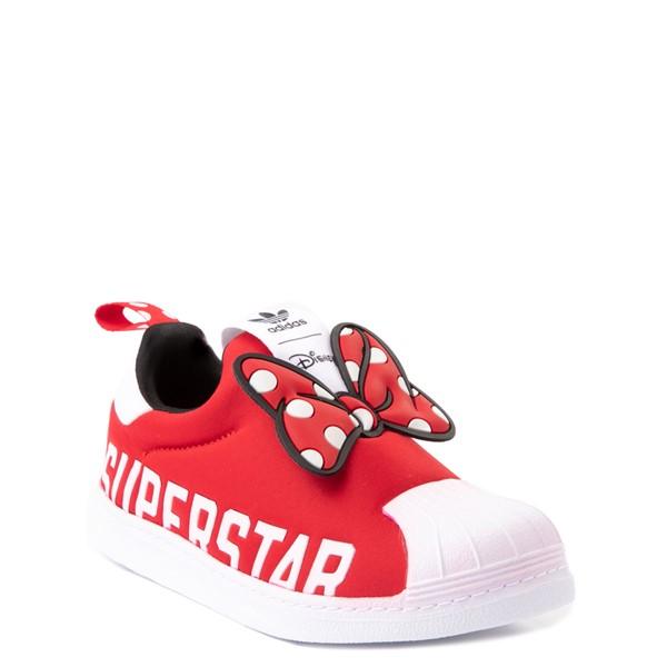 alternate view adidas x Disney Superstar 360 Minnie Mouse Slip On Athletic Shoe - Little Kid - RedALT5
