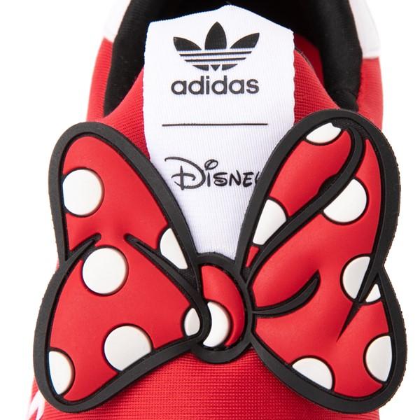 alternate view adidas x Disney Superstar 360 Minnie Mouse Slip On Athletic Shoe - Little Kid - RedALT6