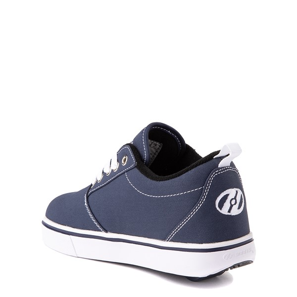 alternate view Heelys Pro 20 Skate Shoe - Little Kid / Big Kid - Navy/WhiteALT1