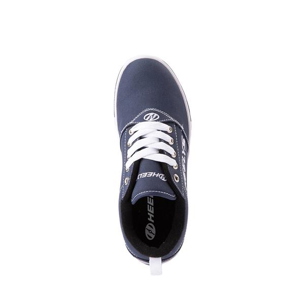 alternate view Heelys Pro 20 Skate Shoe - Little Kid / Big Kid - Navy/WhiteALT2