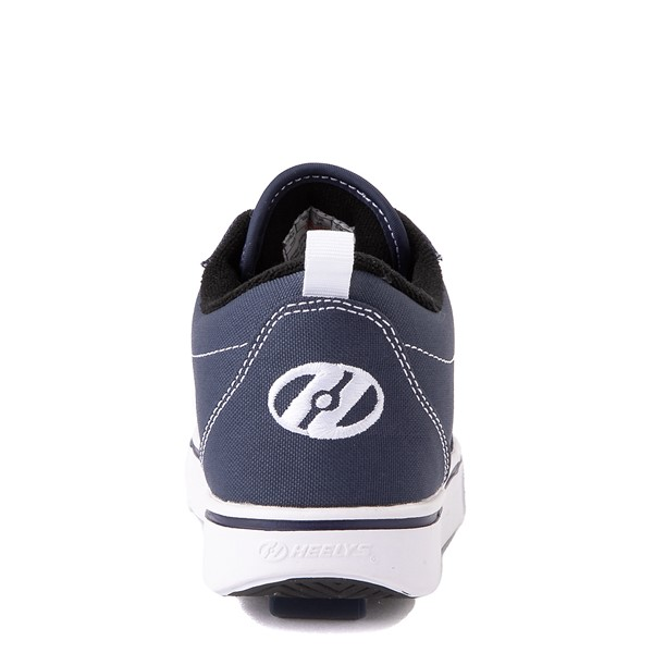 alternate view Heelys Pro 20 Skate Shoe - Little Kid / Big Kid - Navy/WhiteALT4