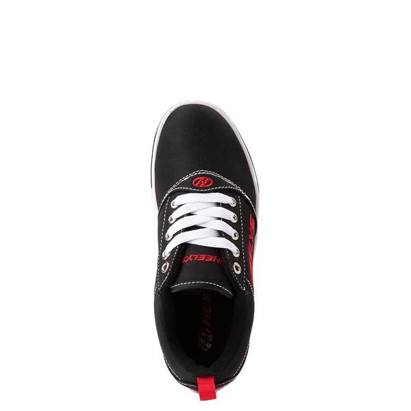 alternate view Heelys Pro 20 Skate Shoe - Little Kid / Big Kid - Black / RedALT4B
