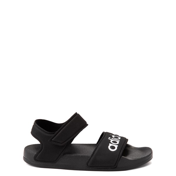 Main view of adidas Adilette Athletic Sandal - Little Kid / Big Kid - Black