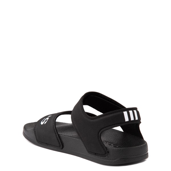 alternate view adidas Adilette Athletic Sandal - Little Kid / Big Kid - BlackALT1