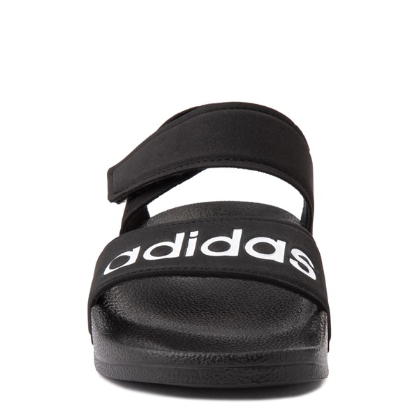 alternate view adidas Adilette Athletic Sandal - Little Kid / Big Kid - BlackALT4