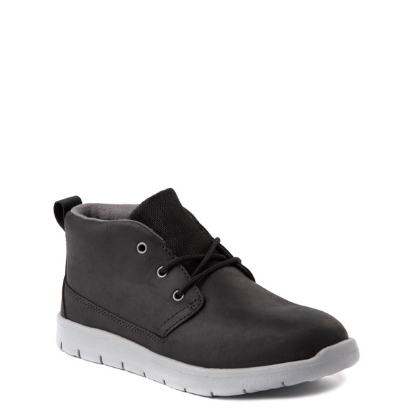 alternate view UGG® Canoe Chukka Boot - Little Kid / Big Kid - BlackALT1