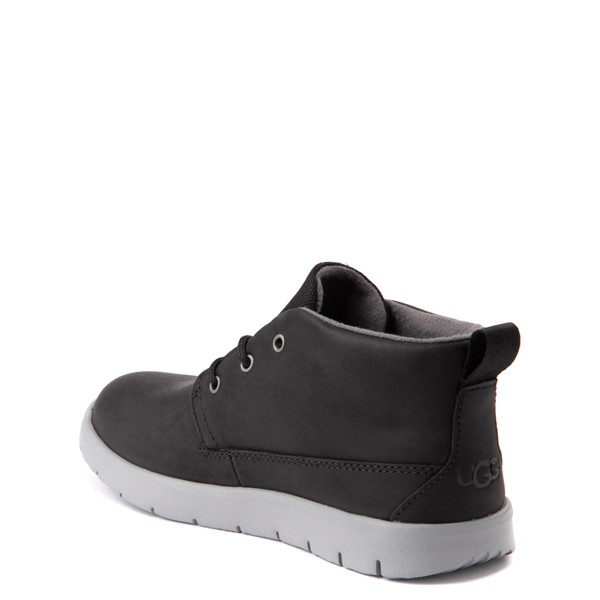 alternate view UGG® Canoe Chukka Boot - Little Kid / Big Kid - BlackALT2