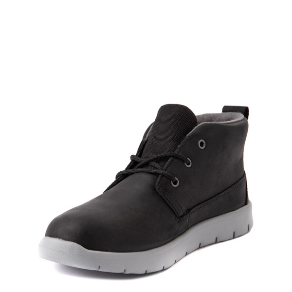 alternate view UGG® Canoe Chukka Boot - Little Kid / Big Kid - BlackALT3
