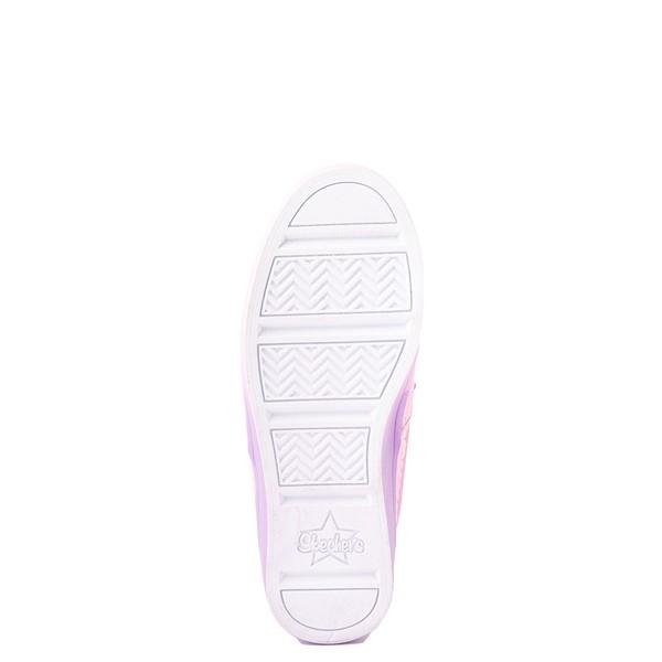 alternate view Skechers Flip Kicks Twi-Lights Unicorn Daydreams Slip On Sneaker - Little Kid - Pink / SilverALT3