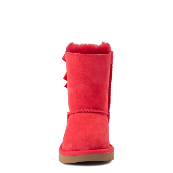 alternate view UGG® Bailey Bow II Boot - Toddler / Little Kid - Ribbon RedALT4