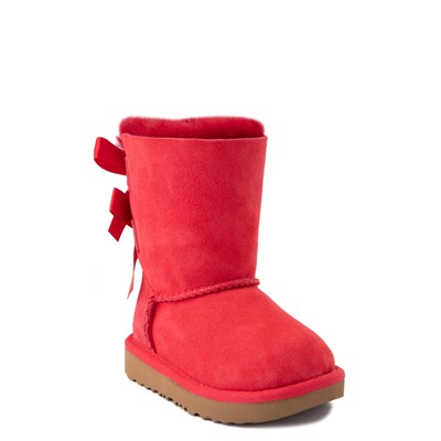 Alternate view of UGG® Bailey Bow II Boot - Toddler / Little Kid - Ribbon Red