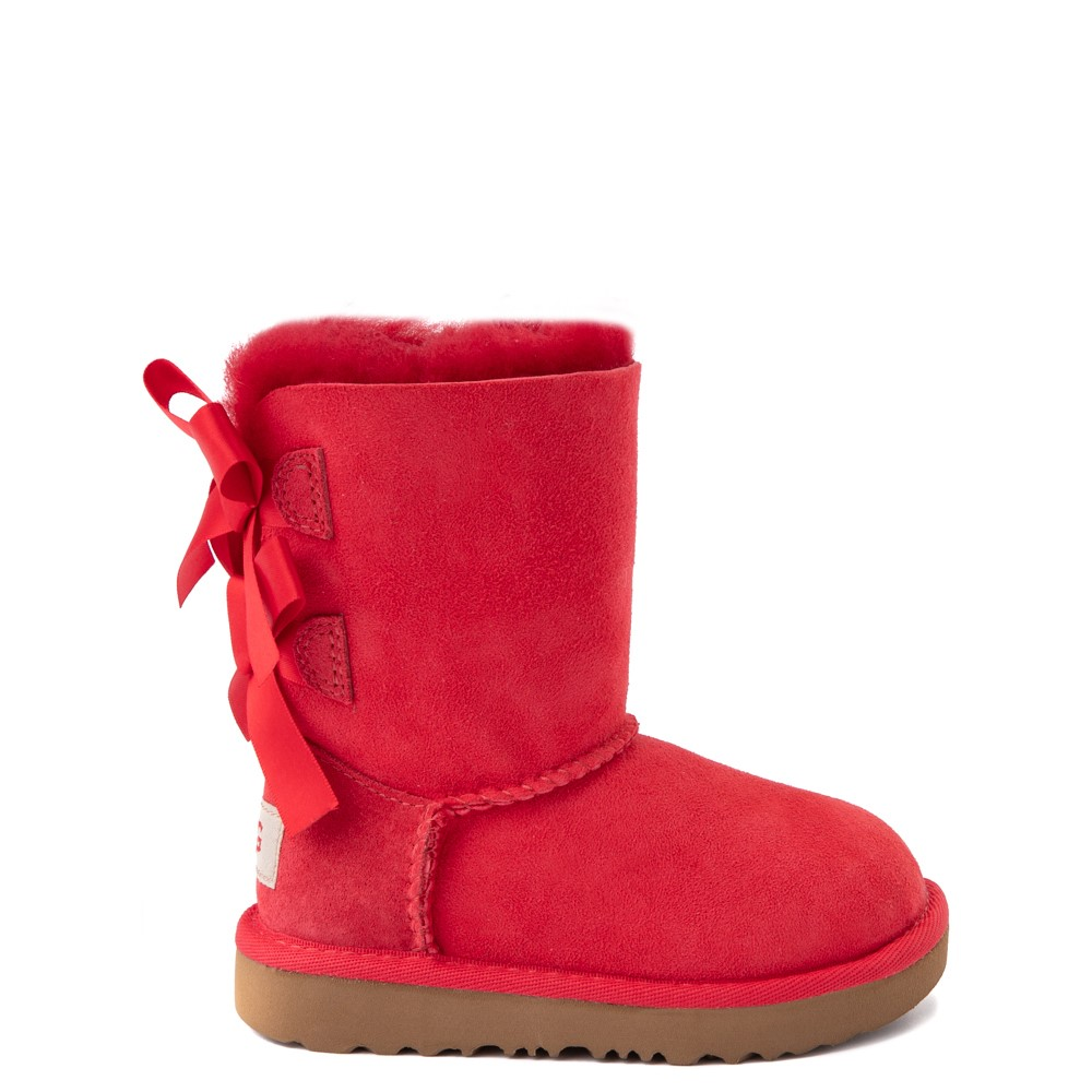 UGG® Bailey Bow II Boot - Toddler / Little Kid - Ribbon Red