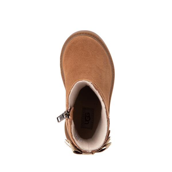 alternate view UGG® Tillee Boot - Toddler / Little Kid - ChestnutALT2